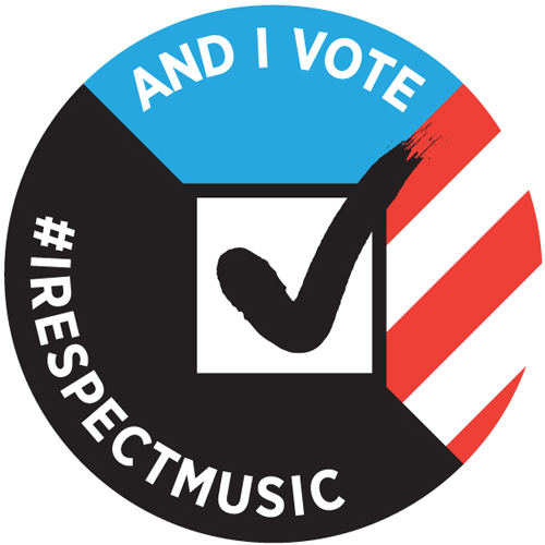 I Respect Music - #IRespectMusic and I Vote
