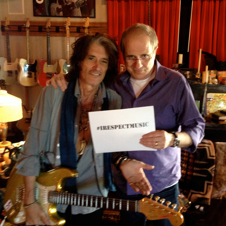 I Respect Music - Joe Perry and Bob Ezrin - #IRespectMusic - http://www.irespectmusic.org