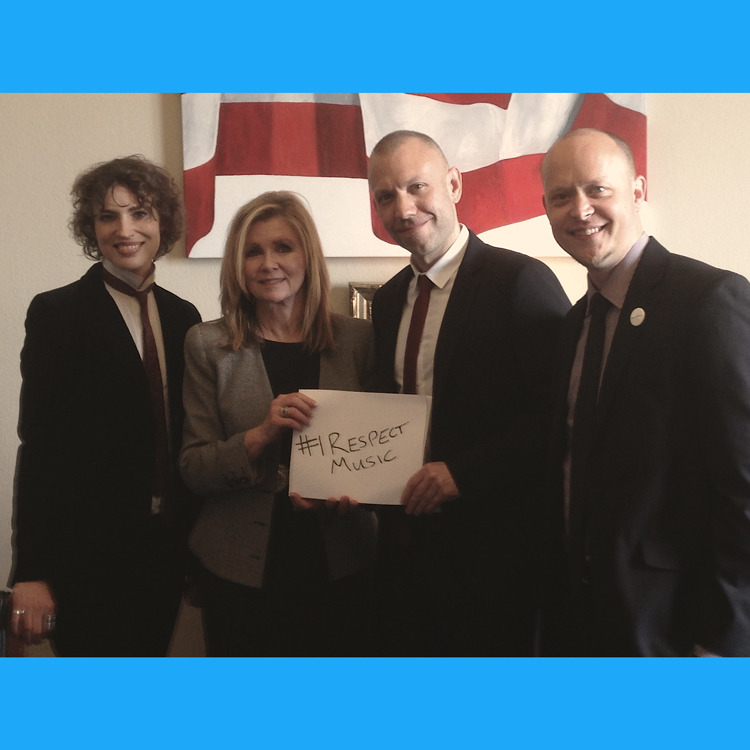 I Respect Music - Representative Marsha Blackburn - http://www.irespectmusic.org