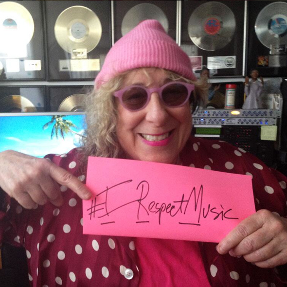 I Respect Music - Allee Willis - #IRespectMusic - www.irespectmusic.org